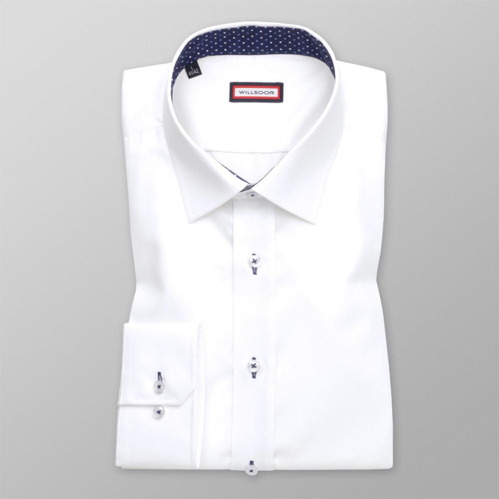 bfb935c26d Slim Fit shirt in white (height 176-182) 10244 - willsoor.eu