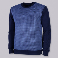 Men's pullover with fine pattern 10149, Willsoor