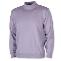 Men's purple turtleneck sweater 10272, Willsoor