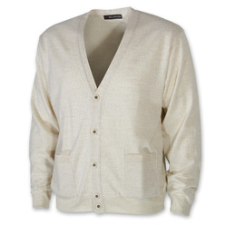 Men's cardigan in beige 10276, Willsoor