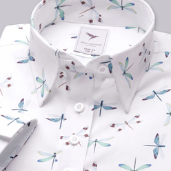 Women's shirt with dragonflies print 10347