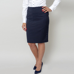 Elegant skirt with quilted pattern 10808, Willsoor