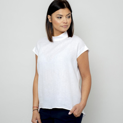Women's blouse in white 10844, Willsoor