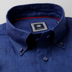 Classic shirt in blue color (height 176-182) 10894