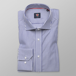 London shirt with blue-white striped pattern (height 176-182 and 188-194) 10895