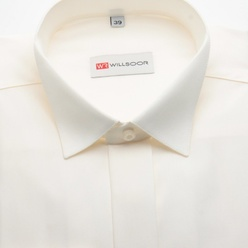 Classic shirt in canvas color (all sizes) 10900