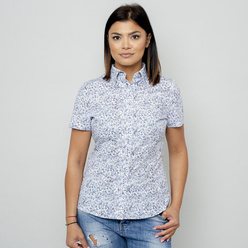 Women's blouse with fine floral pattern 10915, Willsoor