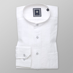 Classic shirt with linen addition (height 176-182) 10945