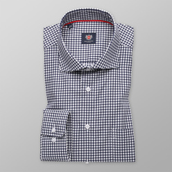 London shirt with check pattern (height 198-204) 11038