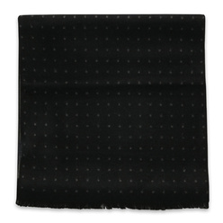 Black scarf with dotted pattern 11048, Willsoor