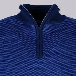 Men's jumper in blue color 11067, Willsoor