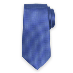 Tie in blue color with fine pattern 11118, Willsoor