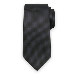 Tie in black color with fine pattern 11119, Willsoor