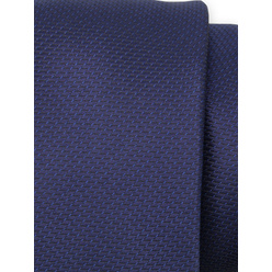 Tie in dark blue color with fine pattern 11120, Willsoor