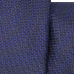 Narrow tie in dark blue color with fine pattern 11122, Willsoor