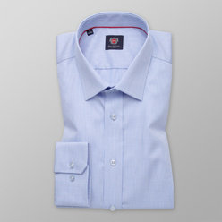 Men's Slim Fit shirt with fine striped pattern 11237