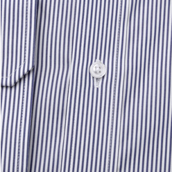 Men's classic shirt with dark blue striped pattern 11239, Willsoor