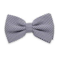 Men's braces in black and check bow tie 11299, Willsoor