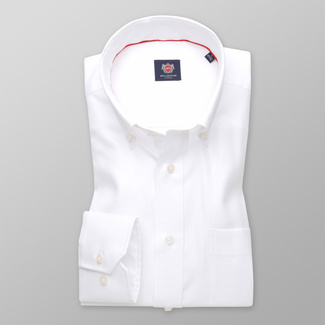 Men's classic shirt with smooth pattern 11341, Willsoor