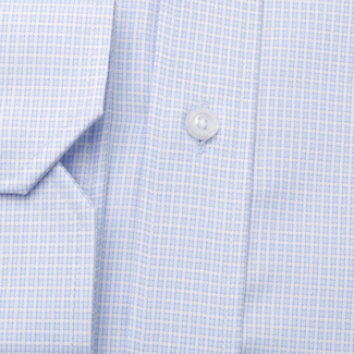 Men's classic shirt with fine check pattern 11366, Willsoor