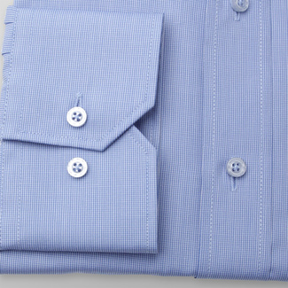 Men's classic shirt with fine check pattern 11379, Willsoor