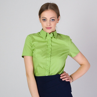 Women's shirt in light green 11756, Willsoor