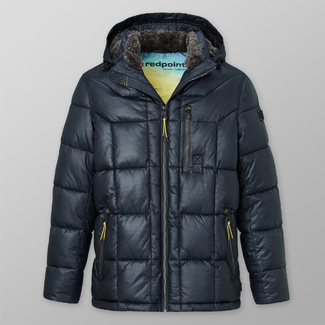 Men's quilted jacket Redpoint Preston dark blue 12415, Willsoor