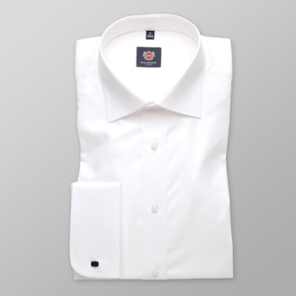 Men shirt WR London in white color (height 176-182) 4557, Willsoor