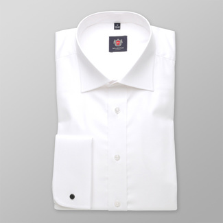 Men shirt WR London in white color (height 164-170) 4558, Willsoor