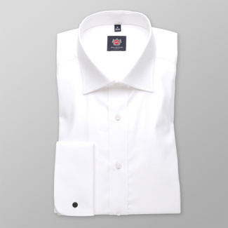Men shirt WR London in white color (height 188-194) 4559, Willsoor