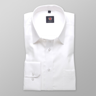Men shirt WR London in white color (height 176-182) 4560, Willsoor