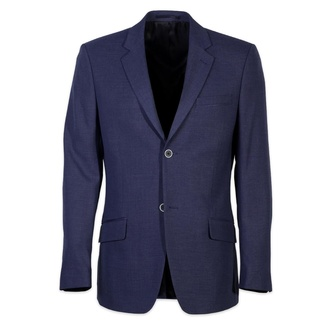 Men suit jacket Willsoor 5470 in dark blue color, Willsoor