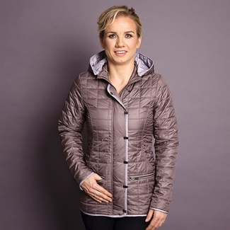 Women jacket Willsoor 7428 in beige color, Willsoor