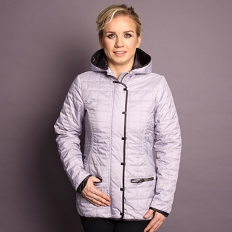 Women jacket Willsoor 7431 in silver color, Willsoor