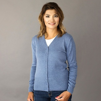 Women's sweater Willsoor 8132 in blue color, Willsoor