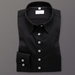 Women's black shirt Willsoor 8417