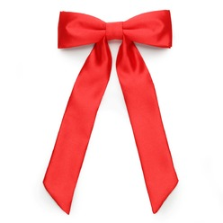 Womens red bowtie Willsoor 9308, Willsoor